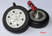 JP Hobby 55mm Brake Wheel Set (4mm Axles)