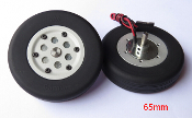 JP Hobby 65mm Brake Wheel Set (4 mm Axles)